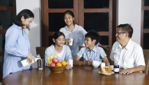 Foto #Semangat Pagi, Untuk Keluarga Kuat dan Sehat