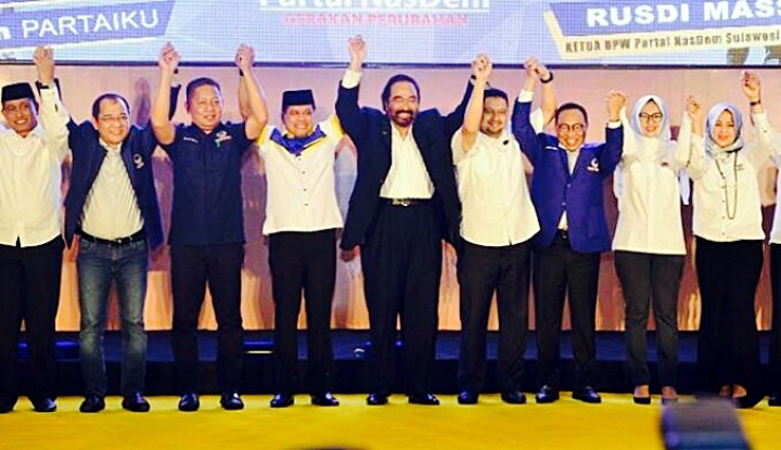 Foto Berita NasDem Sulsel Bidik Tiga Besar di Pemilu 2019