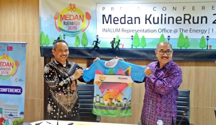 Foto Berita HIN dan Inalum Bakal Langsungkan 'Medan KulineRUN' Akhir Pekan Ini