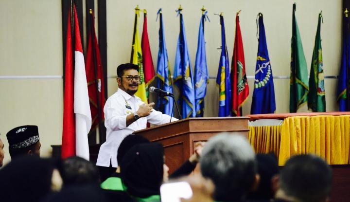 Foto Berita Gubernur Syahrul Sambut Kehadiran Perusahaan Sekuritas di Sulsel