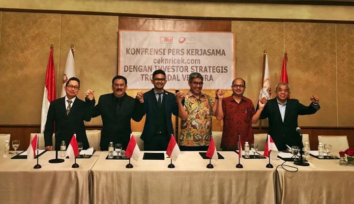 Foto Berita TRG Tanam Dana Segar ke Ceknricek.com