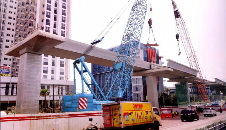 Foto Berita UJP Mulai Pembangunan Urban Sky, Apartemen TOD di Jalur LRT