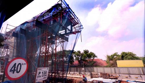 Foto LRT Palembang Siap Diujicobakan