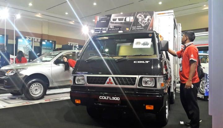 Foto Berita Andalkan L300, Mitsubishi Target Jual 100 Unit di Pameran