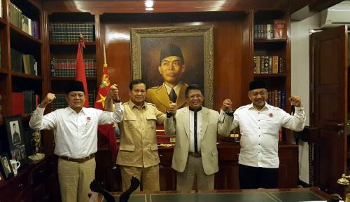 Foto Prabowo Turun Gunung di Pilgub Jabar