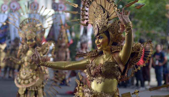 Foto Berita Gubernur Bali Lepas Budaya