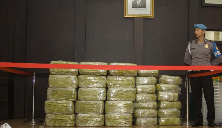Dalam Sebulan Polisi Berhasil Amankan 10,8 Kg Narkoba - Warta Ekonomi