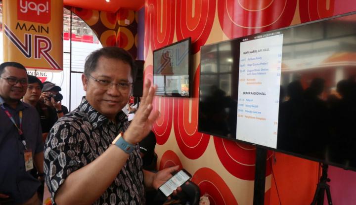 Foto Berita Rudiantara Sebut Proyek Palapa Ring Penuhi Infrastruktur Inklusi Keuangan