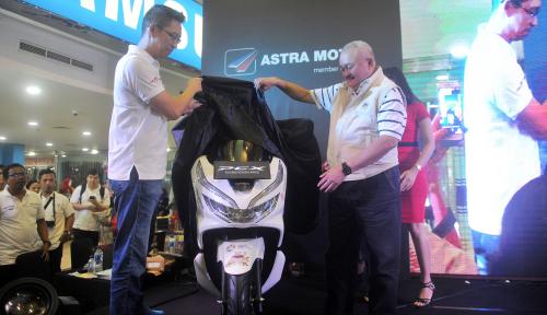 Foto Resmi Sponsori Asian Games, AMS Pinjamkan 50 Unit New Honda PCX 150 cc