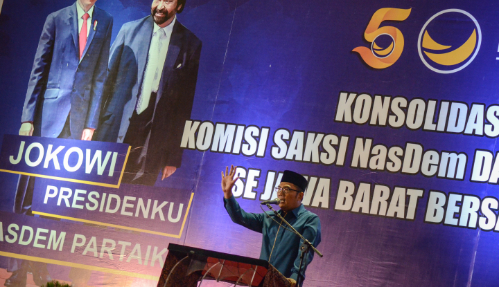 Foto Berita Kamil: NasDem Tak Minta Mahar Politik