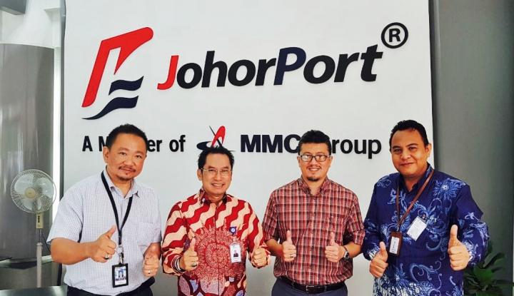 Foto Berita Sambangi Johor Port, Dirsum Pelindo IV Bahas Kerja Sama OJT