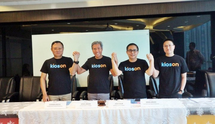 Foto Berita 2018, Kioson Fokus Kembangkan Inovasi Digital dan Kolaborasi