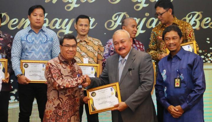 Foto Berita Pusri Peroleh Penghargaan Wajib Pajak dan Pembayar Pajak Terbesar