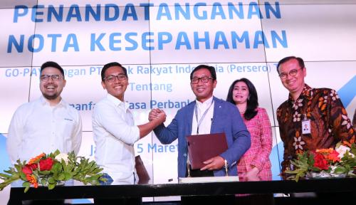 Foto Lewat Go-Pay, BRI Bidik Layanan Finansial Masyarakat Nonbank