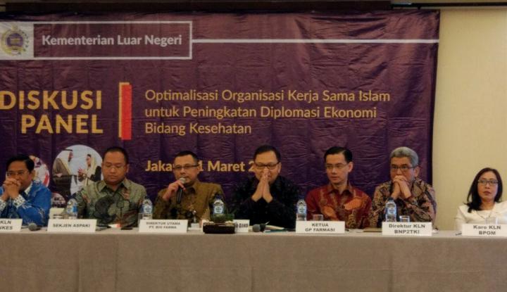 Foto Berita Indonesia Prioritaskan Diplomasi Ekonomi Bidang Kesehatan