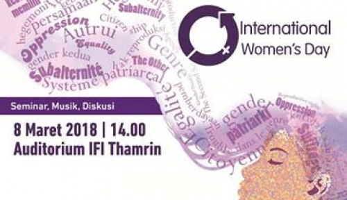 Foto IFI Jakarta Gelar Seminar Sambut Hari Perempuan Internasional
