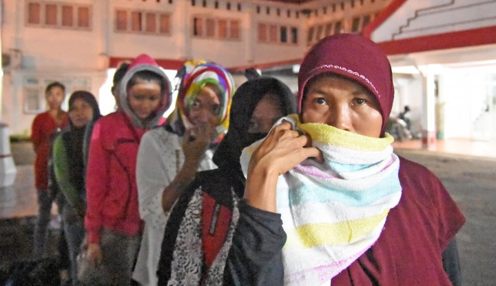 Foto Berita Disiksa Majikan di Malaysia, TKW Sukabumi Akhirnya Pulang Kampung