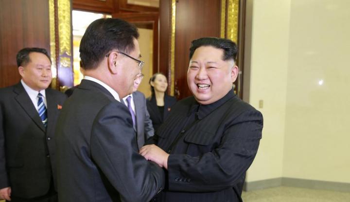 Foto Berita Korea Utara Belum Beritakan Pertemuan Trump-Kim jong-un?