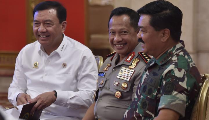 Panglima TNI: Masyarakat Tak Usah Takut ke TPS - Warta Ekonomi