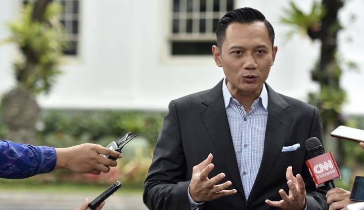 Foto Berita Begini Komentar AHY Soal Prestasi Jenderal Gatot