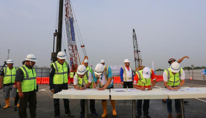 Foto Berita Bangun Akses Jalur Teluk Lamong Pelindo III Siapkan Rp1,3 Triliun
