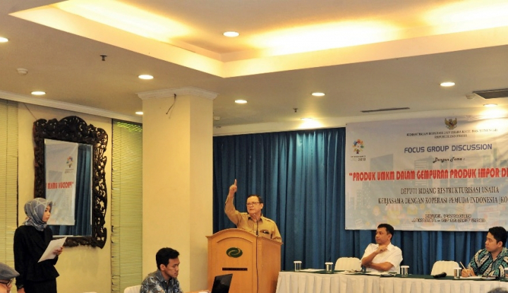 Foto Berita Strategi Pemasaran Produk UKM Indonesia Harus Serang Pasar Global