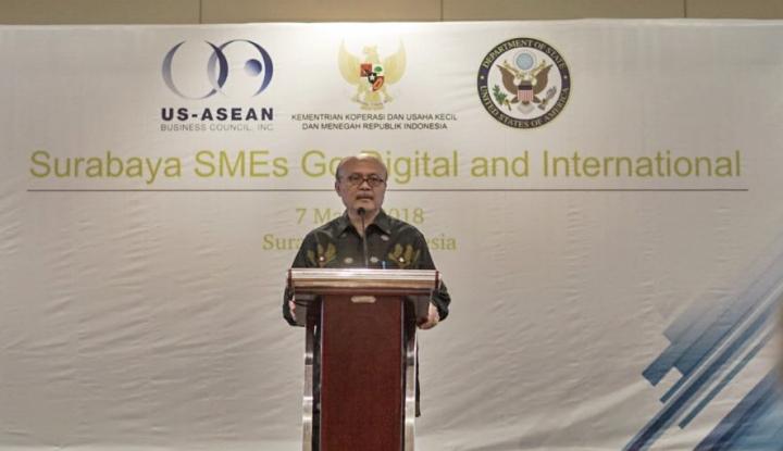 Foto Berita UKM Surabaya Ikuti Workshop Go Digital