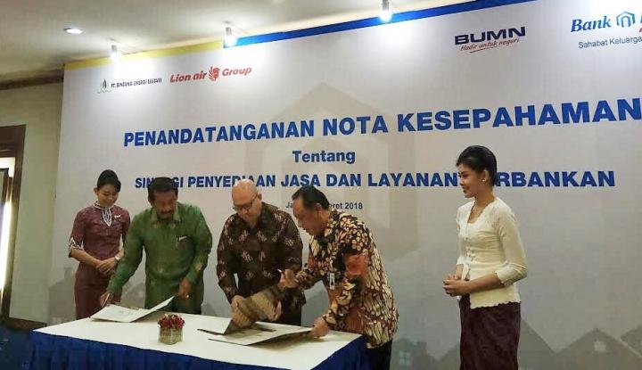 Foto Berita BTN Biayai 2.000 Unit Rumah Karyawan Lion Air Group