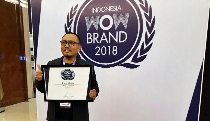 Foto Berita Ini Strategi First Media Pertahankan Penghargaan Wow Brand