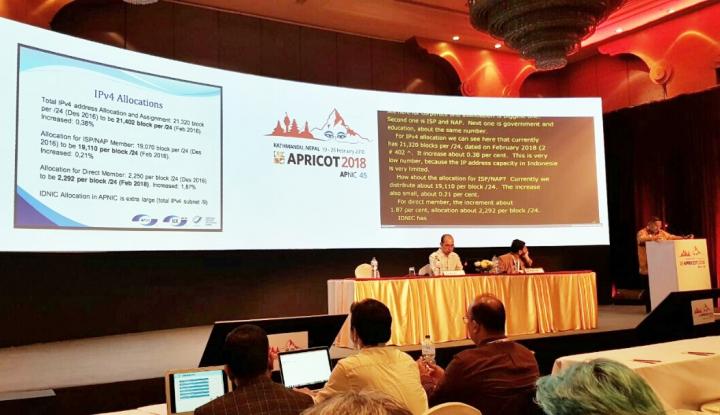 Foto Berita Indonesia Tempatkan Wakil di Dewan Eksekutif di APNIC