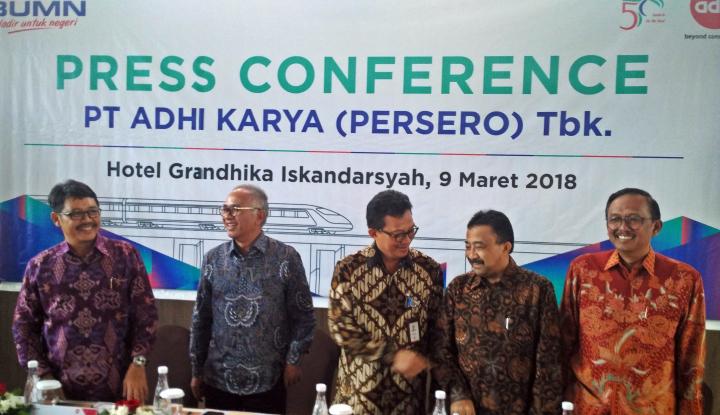Foto Berita Adhi Karya Sudah Terima Pembayaran Pertama Proyek LRT Rp3,42 Triliun