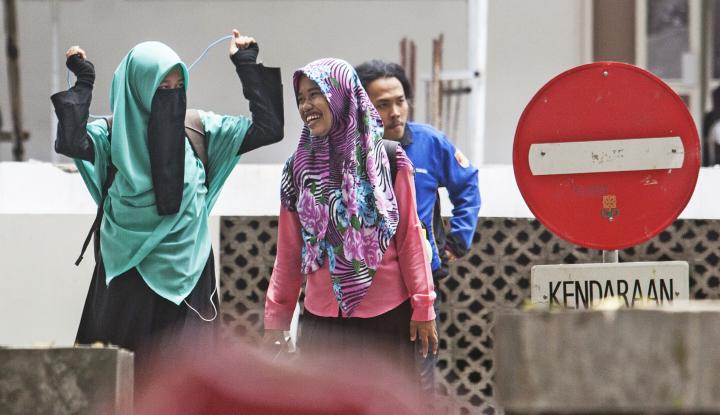 Foto Berita Polemik Larangan Bercadar, Kementerian Perempuan Dukung Pihak UIN Suka?