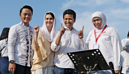 Foto Emil Dardak Gencar Kampanye Jelang Pemilihan