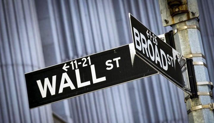 Saham Energi Meroket, Wall Street Ditutup Bervariasi - Warta Ekonomi
