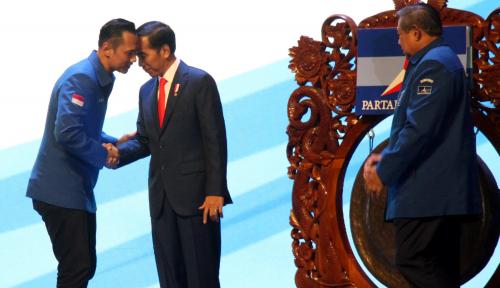 Foto SBY: Demokrat Siap Dukung Presiden Sukseskan Pemilu