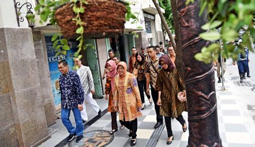 Foto Gairahkan Ekonomi Surabaya Pascateror Bom, Bu Risma Luncurkan SSF