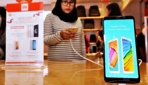 Foto Xiaomi Jadi Vendor Smartphone Terbesar pada Kuartal I 2018