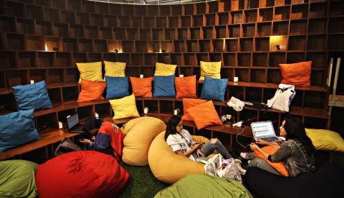 Foto Bidik 1.000 Technopreneur, Kemenperin Fasilitasi Coworking Space