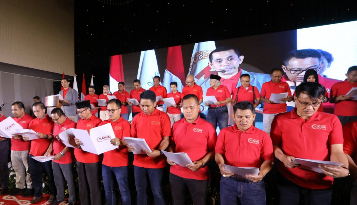 Foto Berita Peringati 90 Tahun Sumpah Pemuda, KAHMIPreneur Helat IYES 2018