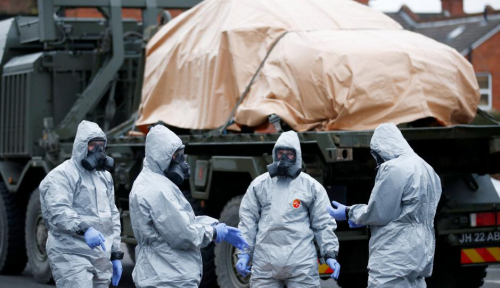 Foto PM Inggris: Moskow Bertanggung Jawab Atas Racun Saraf di Tubuh Eks Mata-Mata Rusia