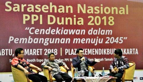 Foto PPI Dunia Dorong Pembangunan Indonesia 2045