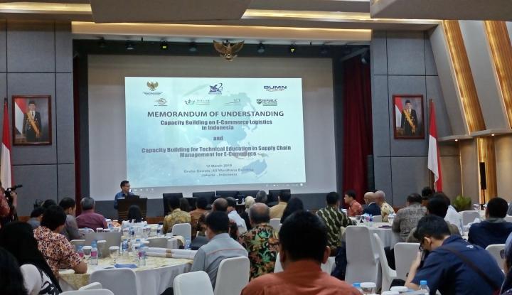 Indonesia Berguru ke Singapura Belajar e-Commerce Logistics - Warta Ekonomi