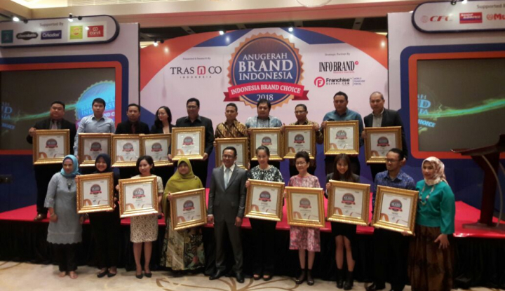 Foto Berita Inilah Brand Asli Indonesia Peraih Anugrah Brand Indonesia 2018