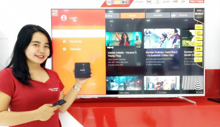 Foto Berita Polytron Play: Smart TV dengan Bluetooth Remote