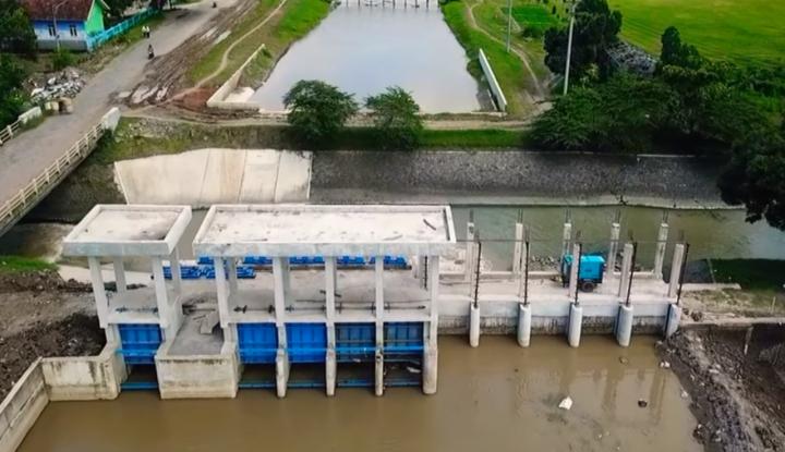 Foto Berita Modernisasi Jaringan Irigasi Tingkatkan Pasokan Air untuk Sawah di Jabar