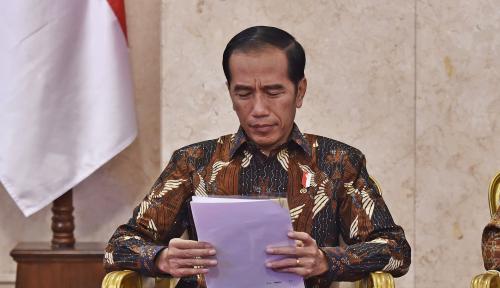 Foto Melihat Langsung Lokasi Gempa Banjarnegara, Ini Arahan Jokowi...