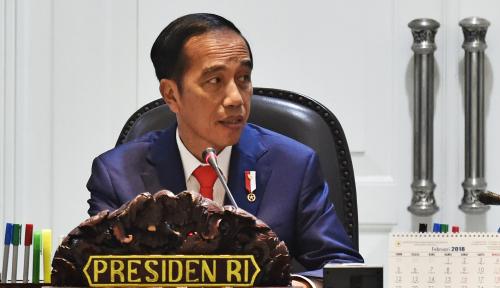 Foto Ini Kata Jokowi Soal Potensi Fesyen Muslim