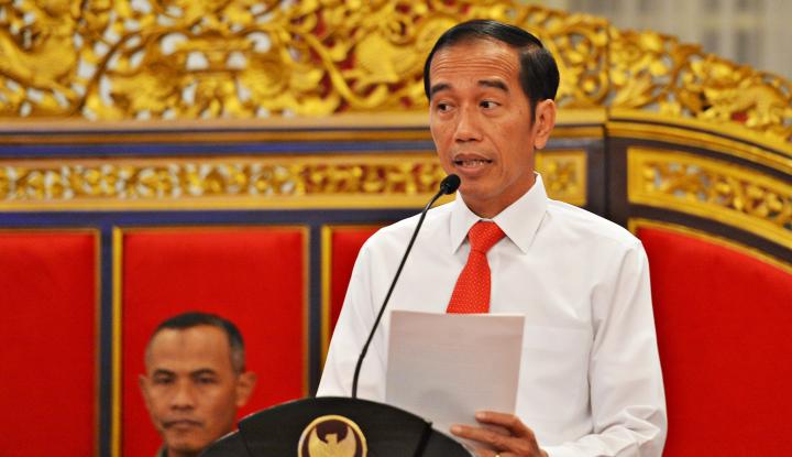 Foto Berita Ucapan Ketum Gerindra Ini Bikin Jokowi
