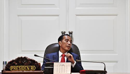 Foto Jokowi-Mega Bahas Cawapres di Istana Batu Tulis