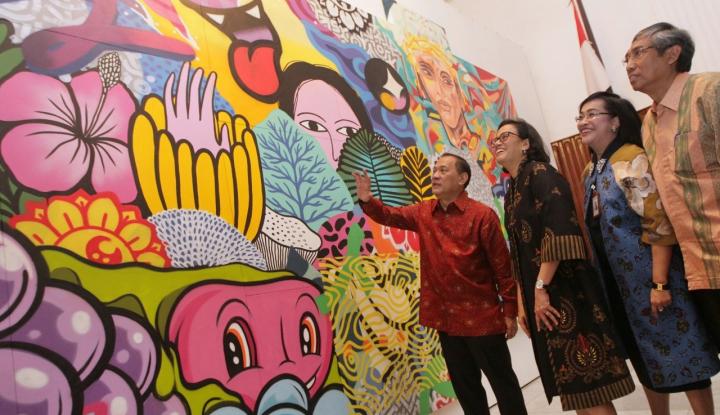 Jelang Annual Meeting IMF-Bank Dunia, BNI Ramaikan Pameran Budaya Indonesia - Warta Ekonomi
